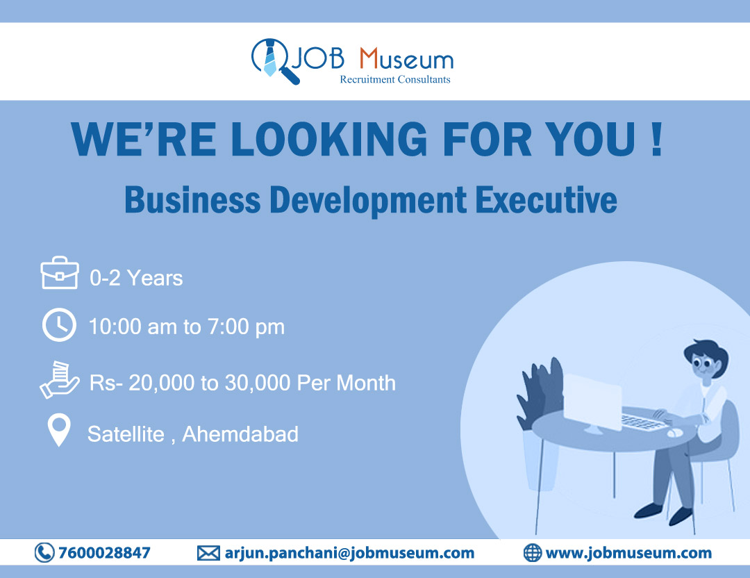 Business Development Executive Jobs in ahmedabad