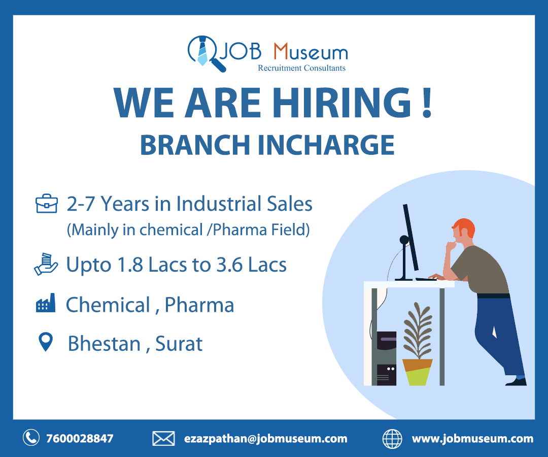 Branch In-Charge jobs in Surat