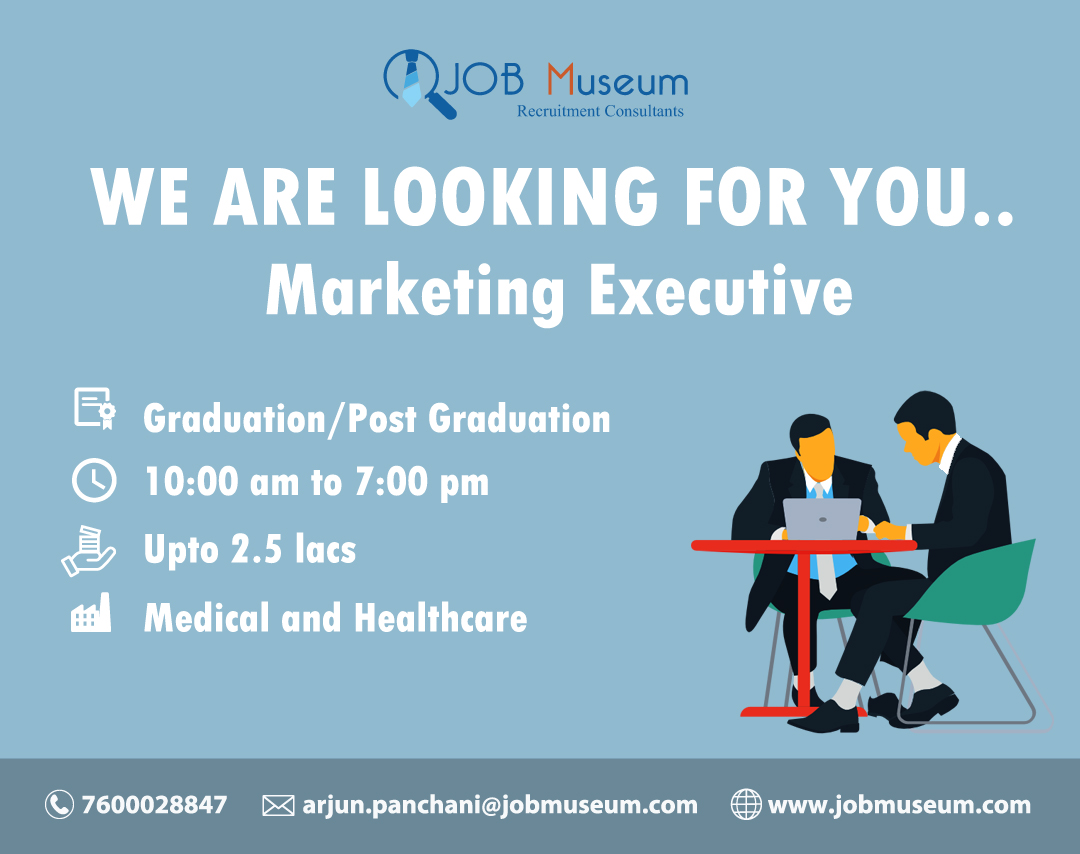 Marketing Executive Jobs Vacancy and Openings in Surat