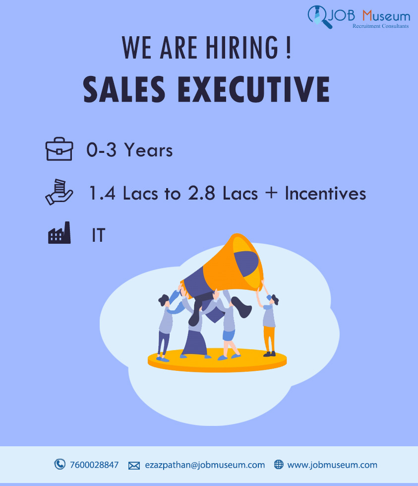 Sales Executive Jobs in Surat