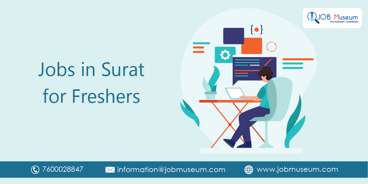Jobs in Surat for Freshers