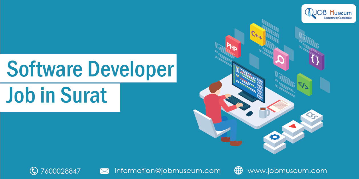 Software Developer Jobs in Surat