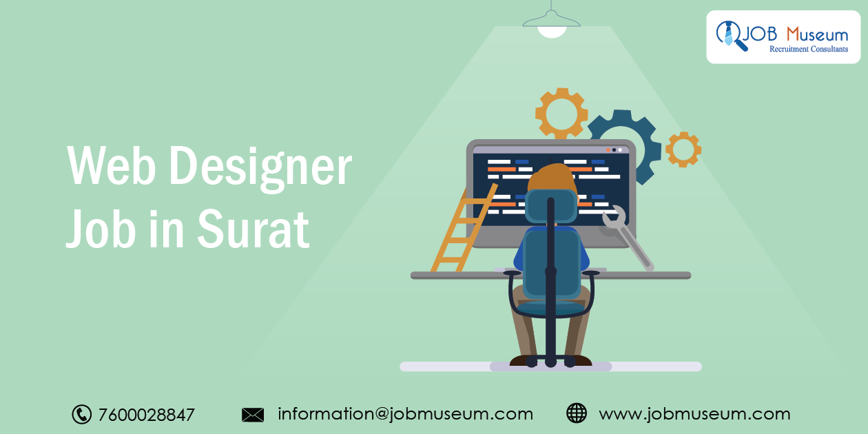 Web Designer Job in Surat for Fresher and Experienced