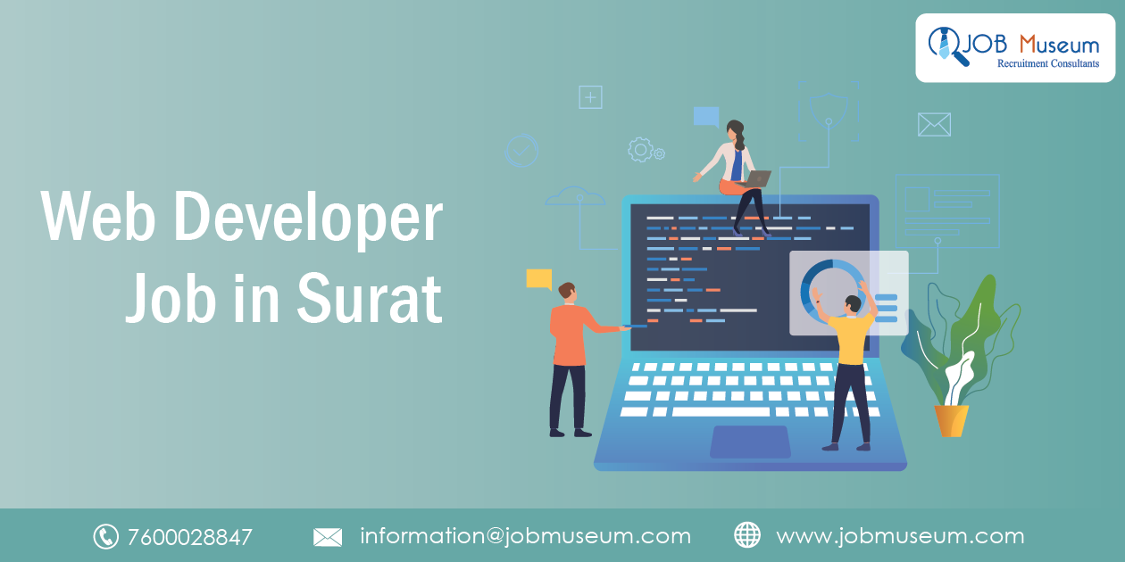 Web Developer Jobs in Surat