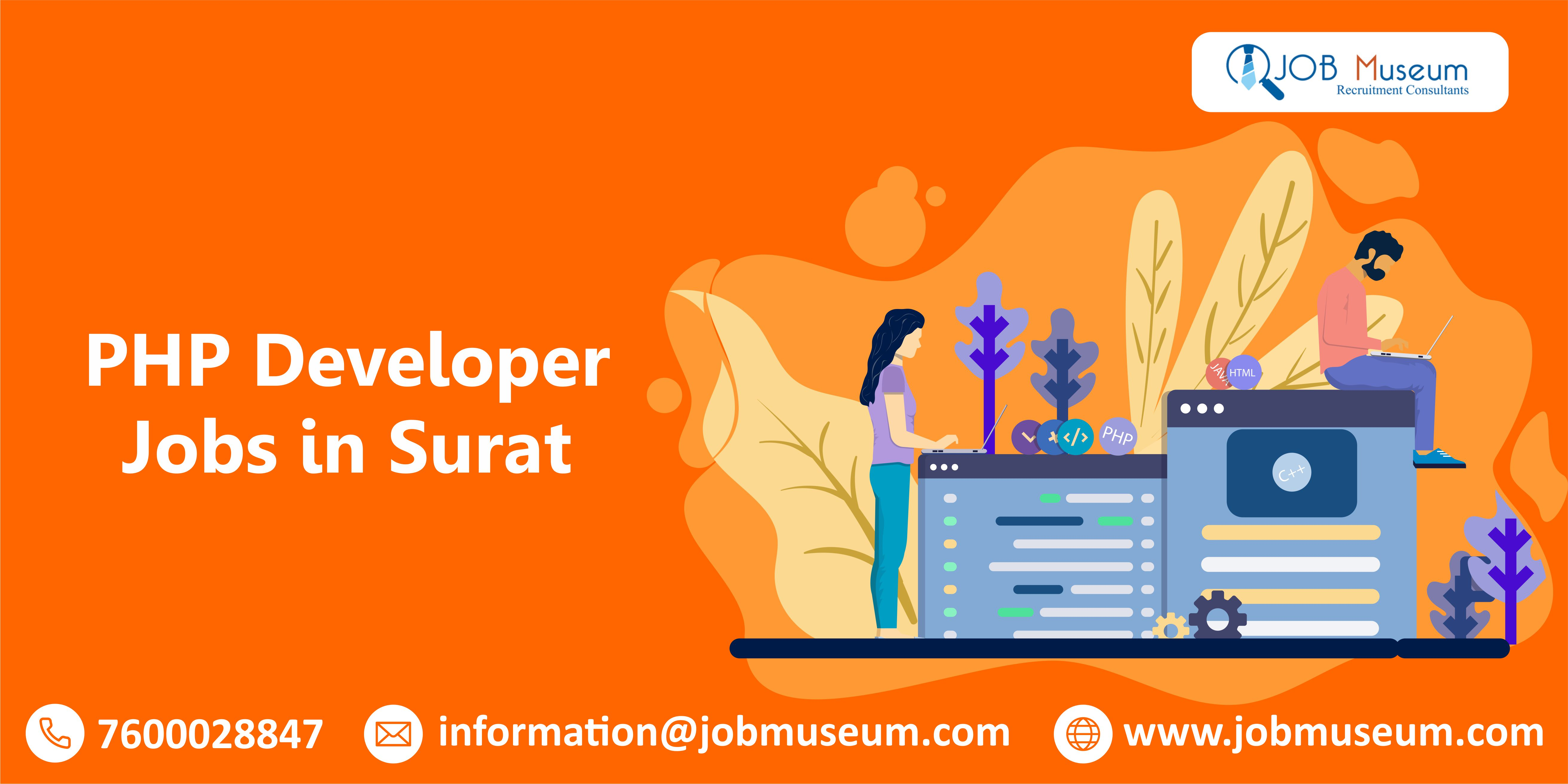 PHP Developer Jobs in Surat
