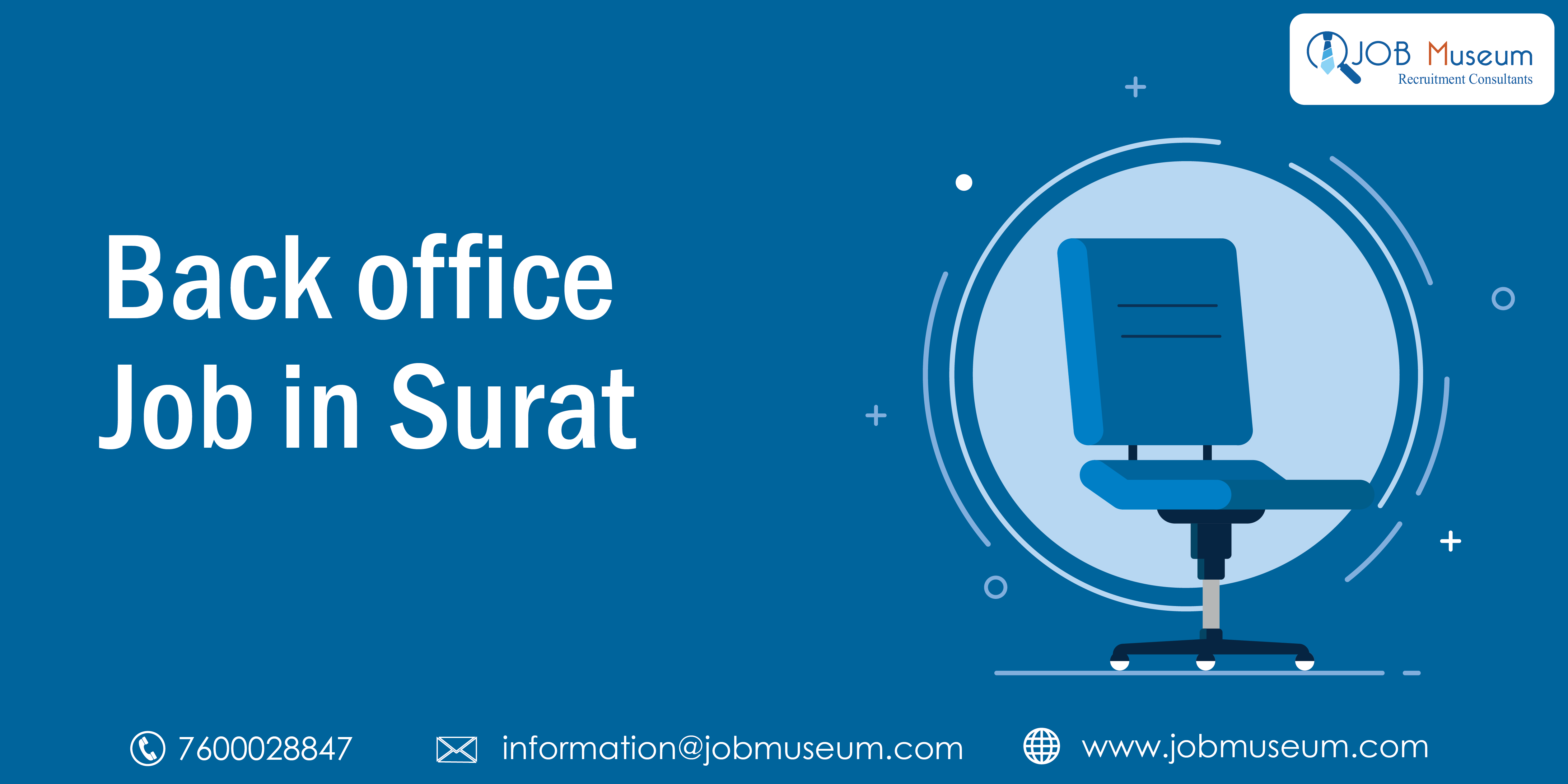Back Office Executive Jobs in Surat