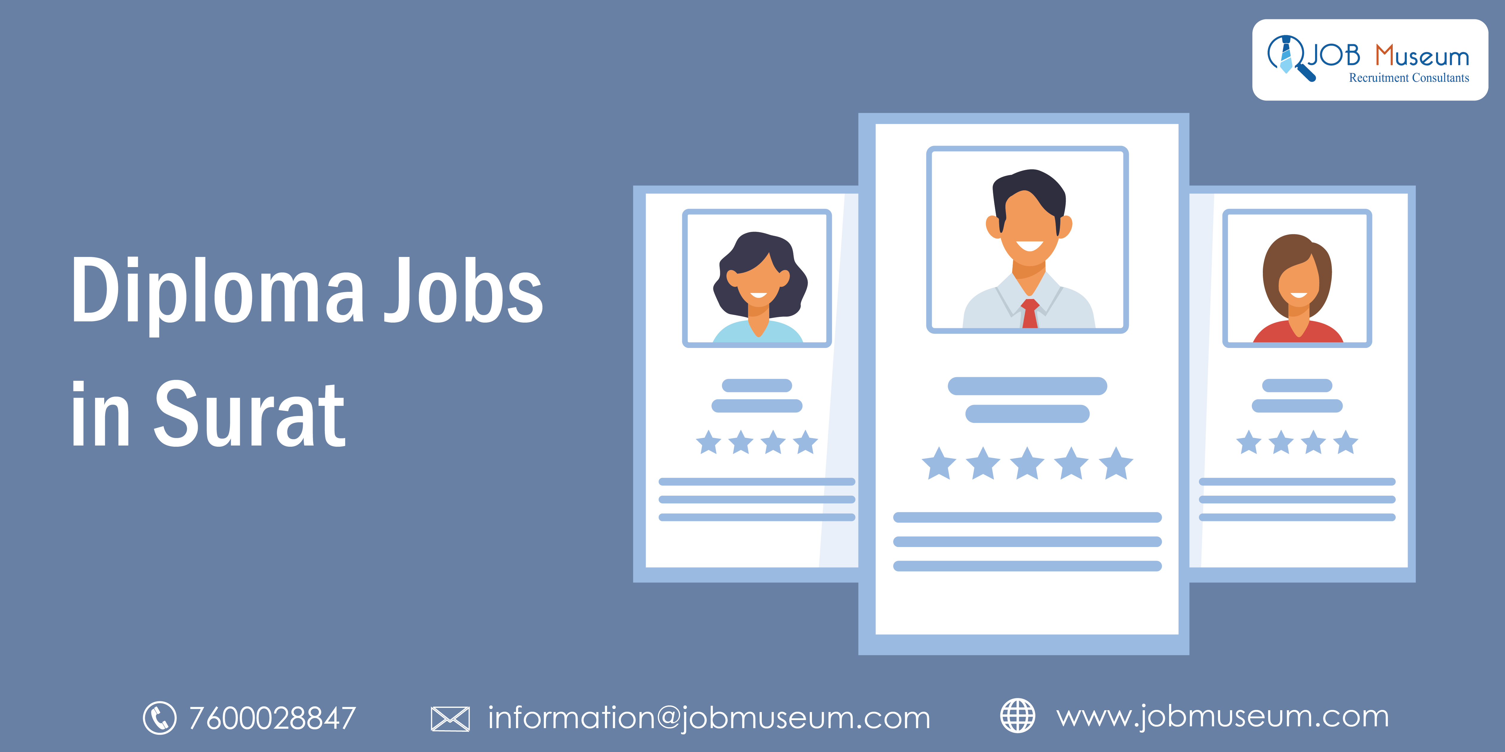 Diploma Jobs in Surat - Job Vacancy for Freshers and Experienced