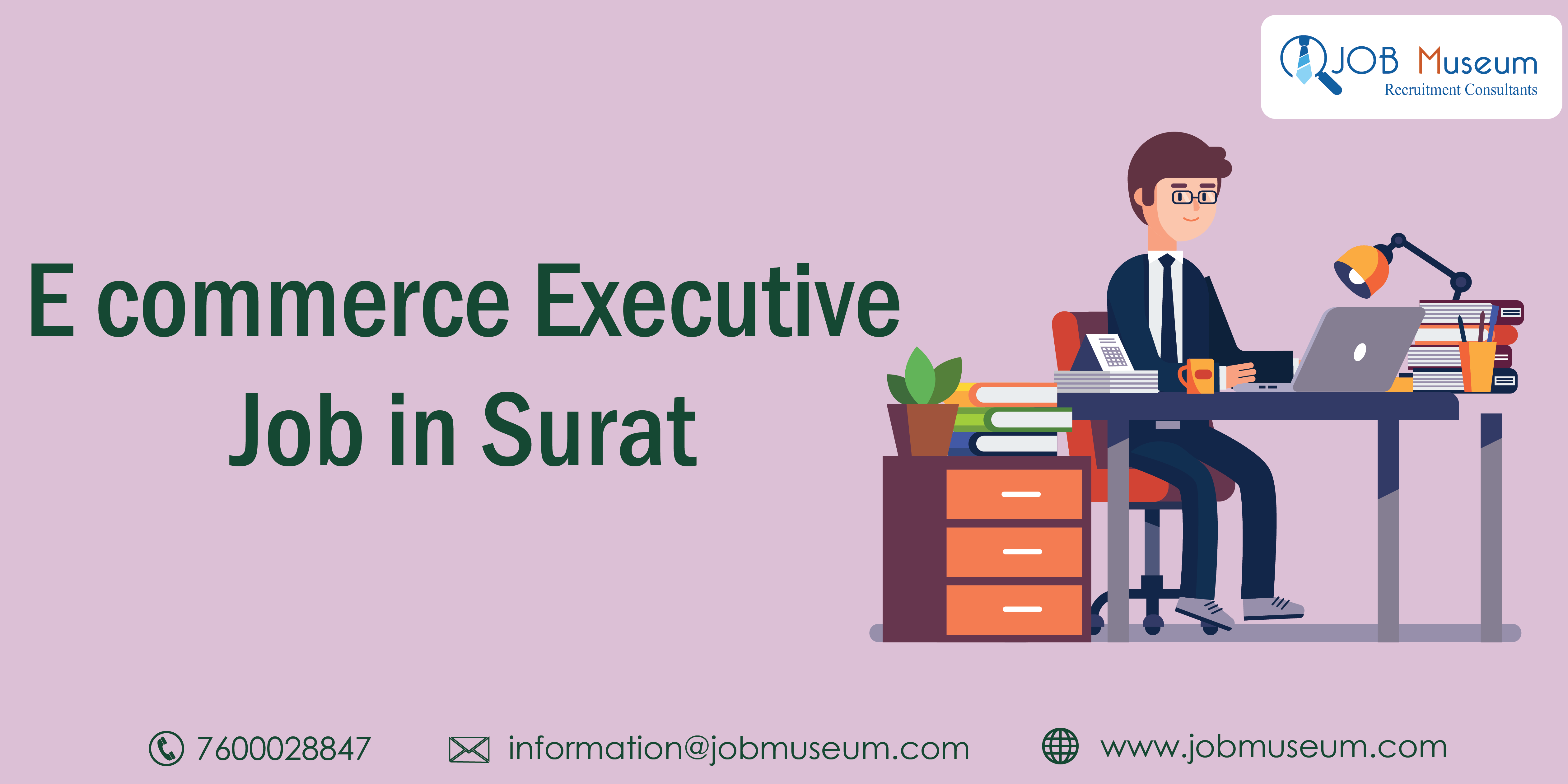 E-Commerce Executive Job in Surat