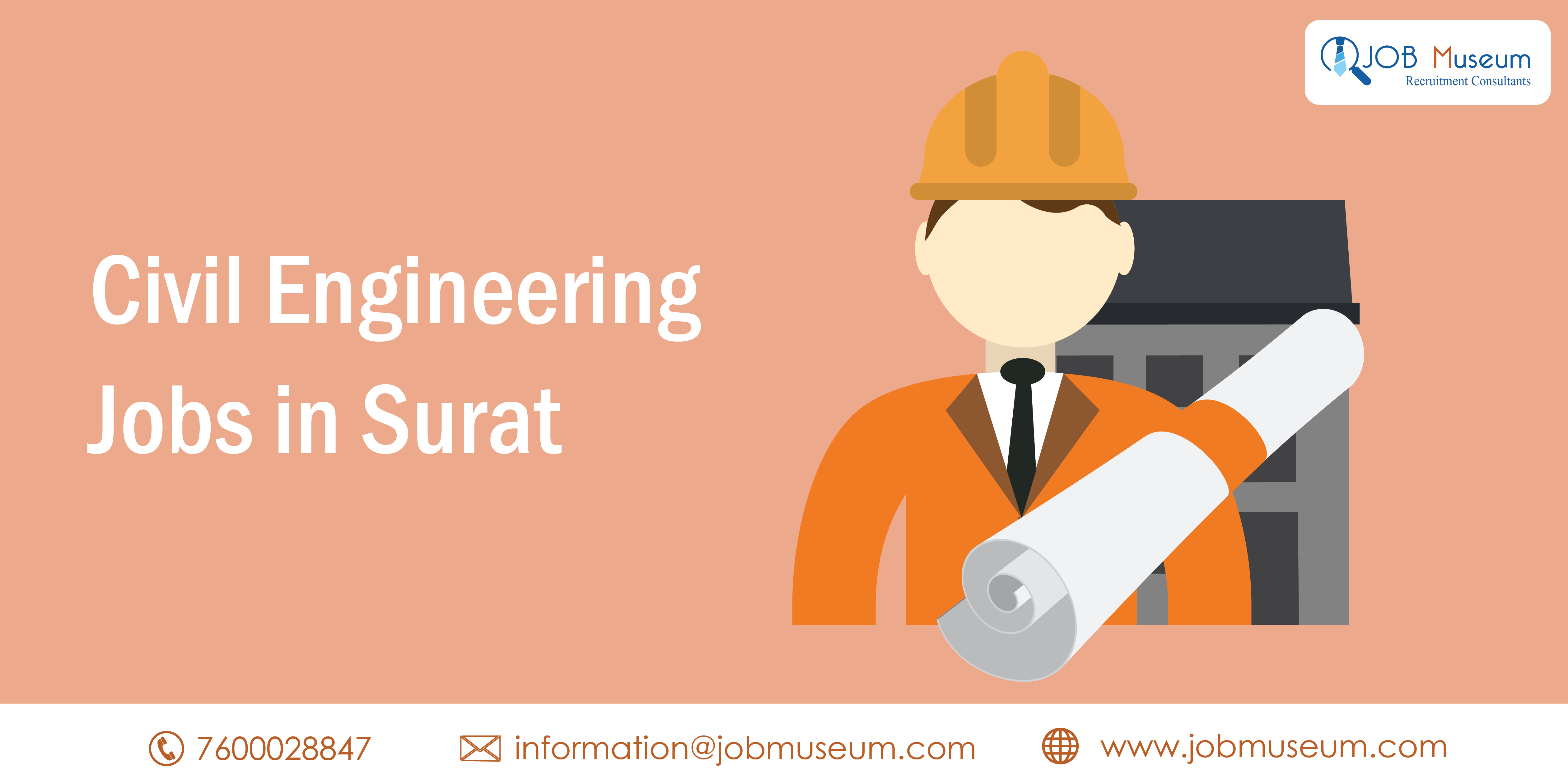 Civil Engineering Jobs In Surat Job Vacancy For Diploma Freshers Job Museum