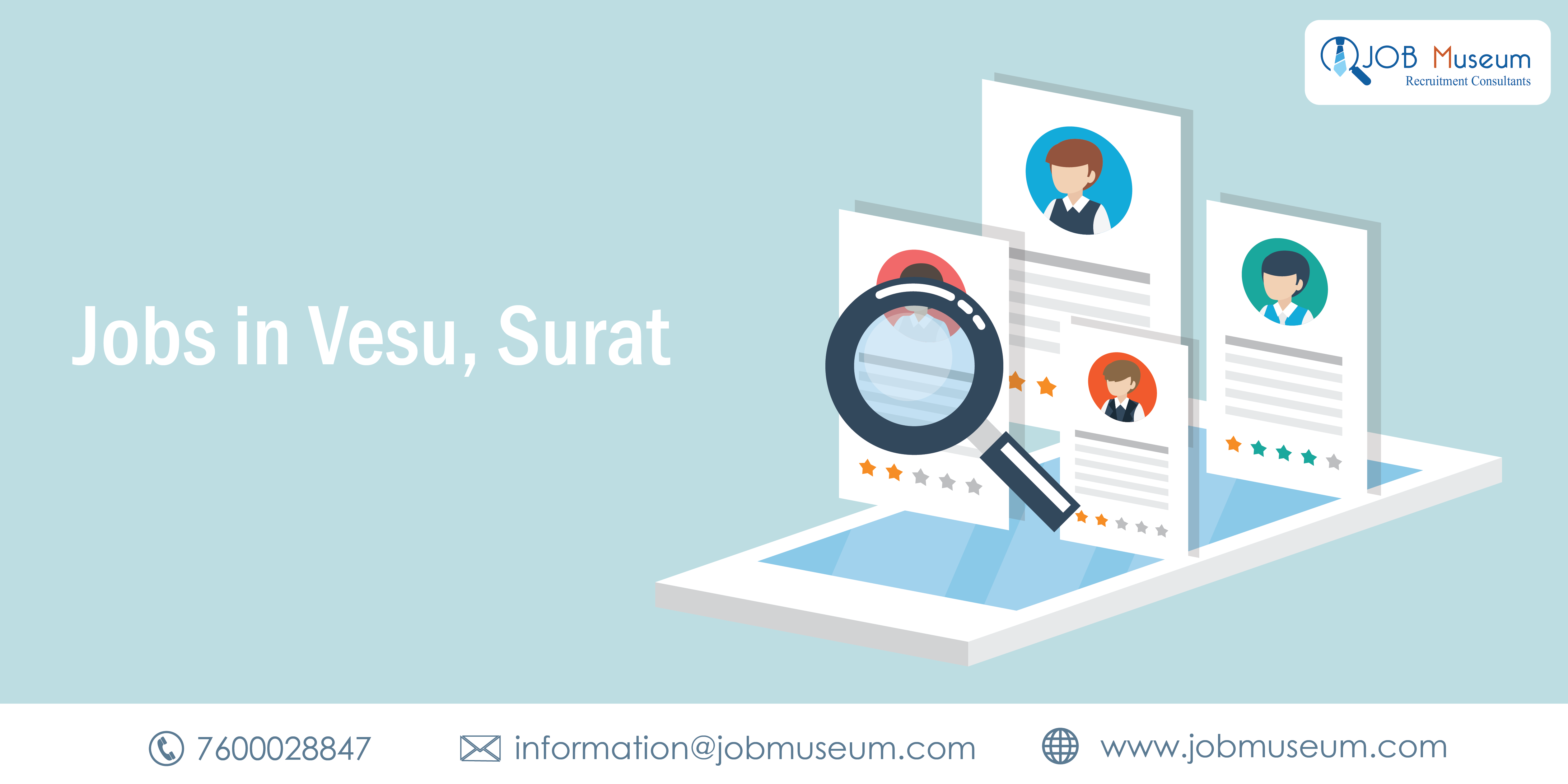 Jobs in Vesu, Surat