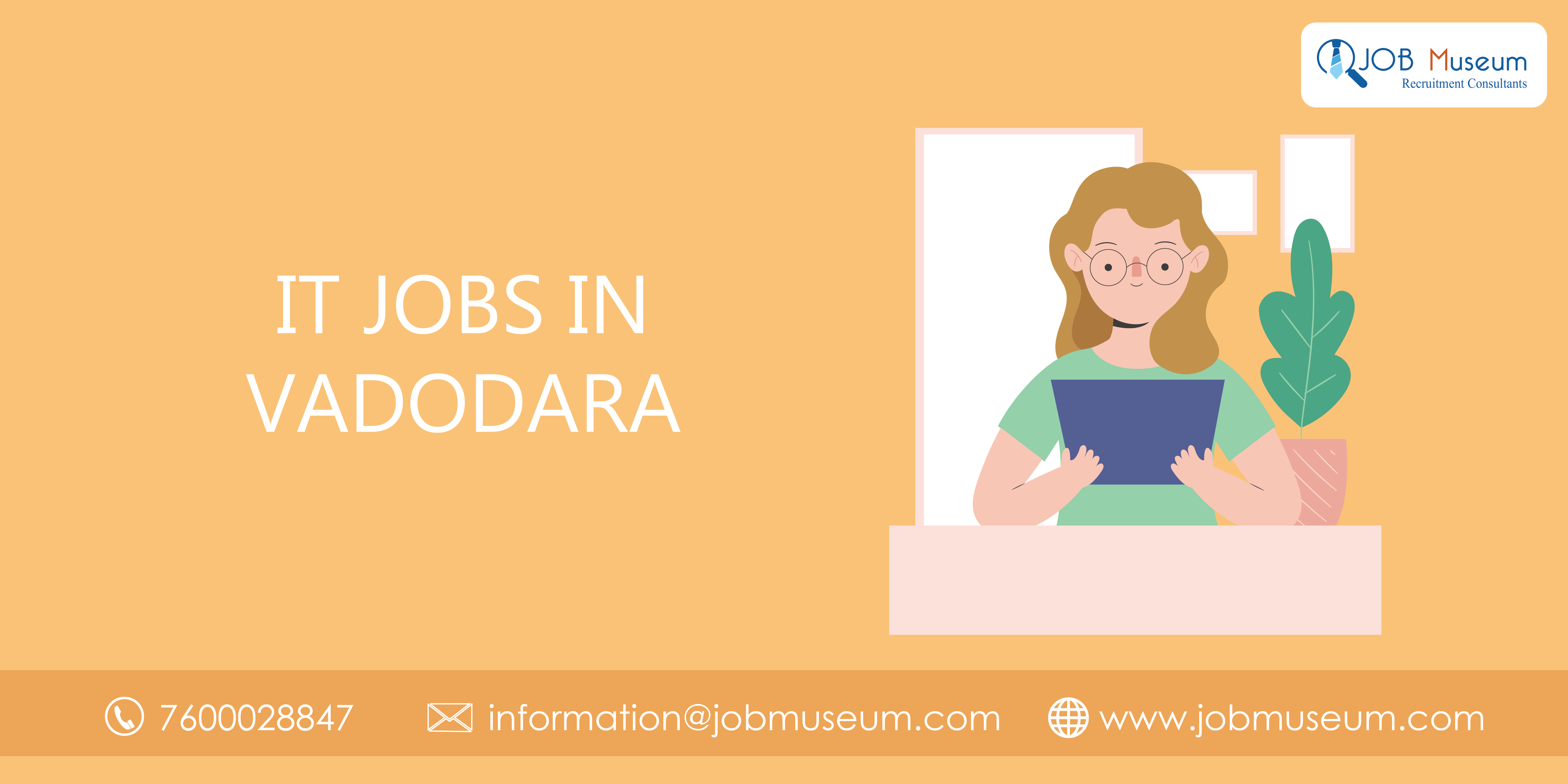 IT jobs in vadodara