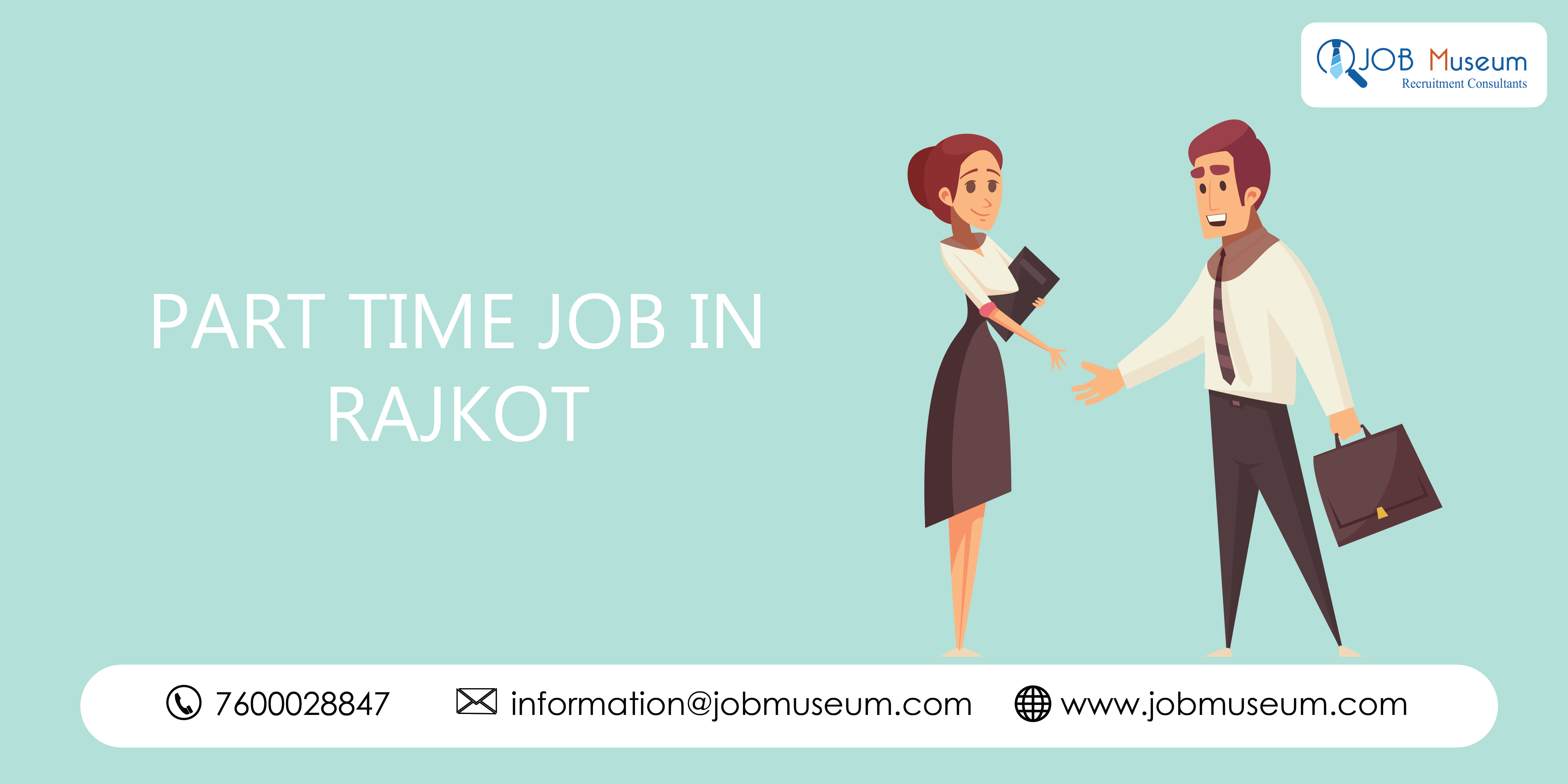 part time job in rajkot