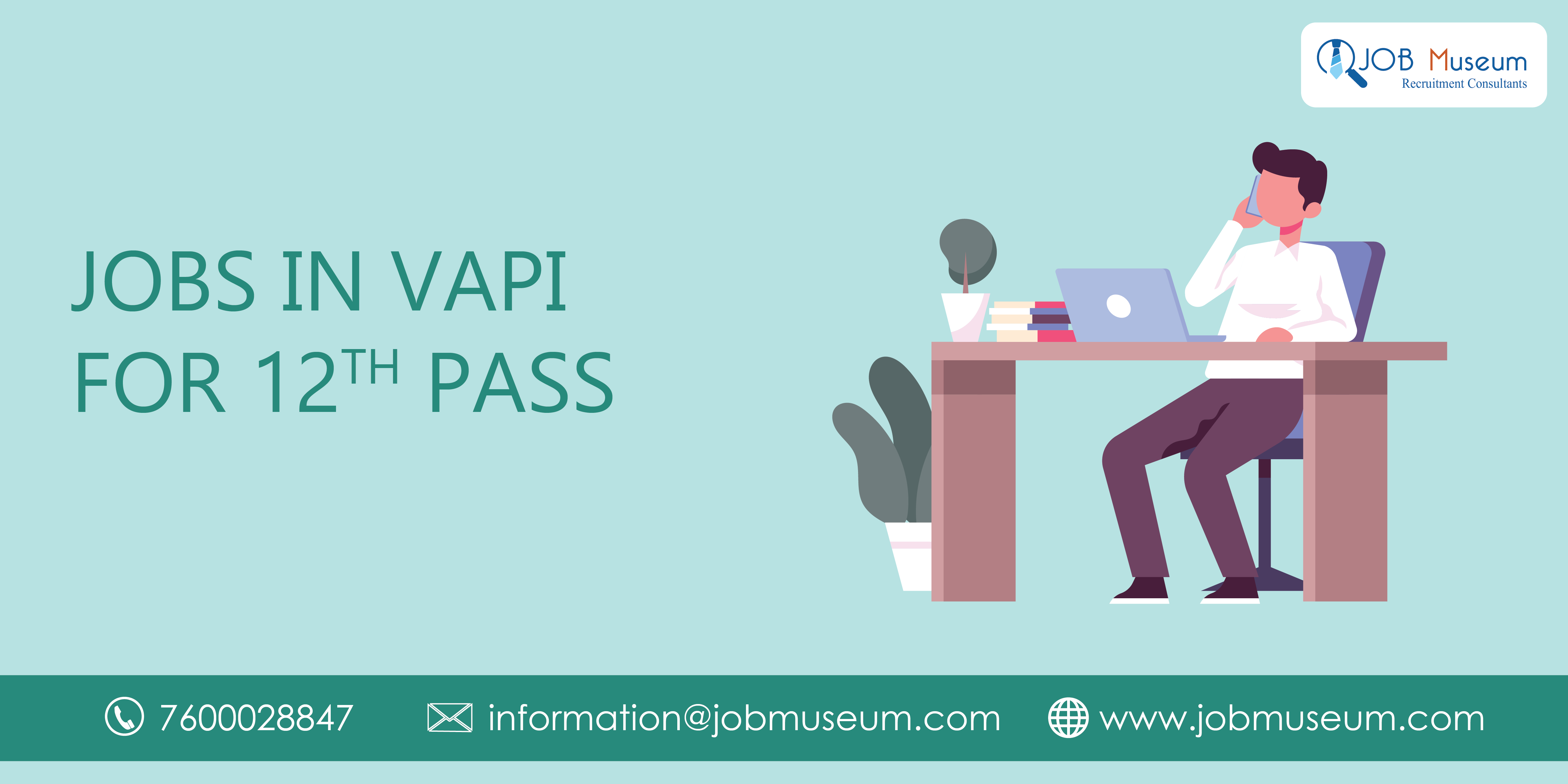 Jobs in vapi for 12th pass