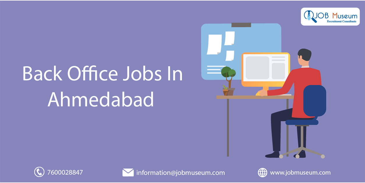 Back office jobs in Ahmedabad