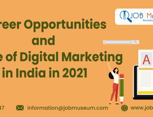 Career Opportunities and Scope of Digital Marketing in India in 2021