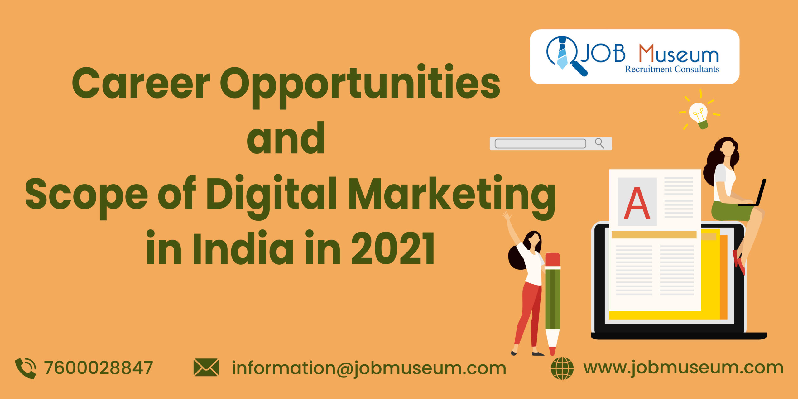 Career opportunities and Scope of digital marketing in India 2021