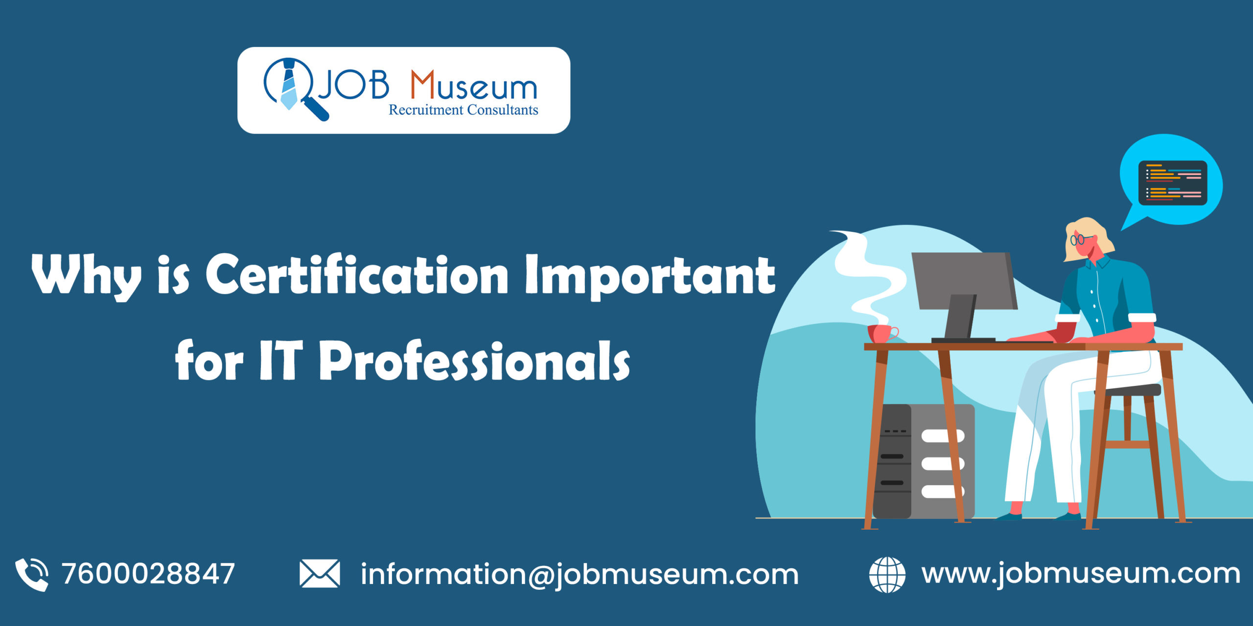 Why is certification important for IT professionals
